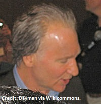 Bill Maher wikicommons copyrightDayman